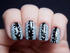 Illamasqua Inspired Speckled Nail Art and Eye Look