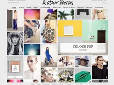 And Other Stories Fashion Website Design