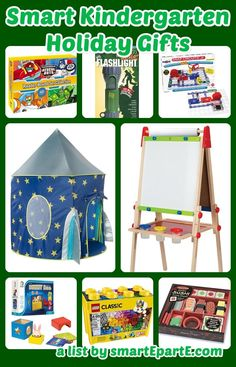 Need some ideas for smart kindergarten holiday gifts this year? Check out this list that includes LEGOs, a great easel, Snap Circuits and more! Diy School, School Ideas, Snap Circuits, Tot Trays, Kindergarten, 3 Year Olds, Some Ideas, Earth Day, Easel