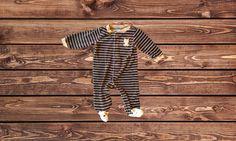 Boys Velour Bear Pajamas (Size: 6 Months)
