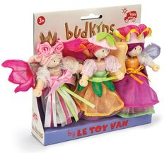 Le Toy Van - Budkins Doll Garden Fairy Set. Perfect for some quiet pretend play. #EntropyWishList #PinToWin