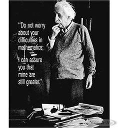 Albert Einstein Poster Do Not Worry