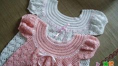 crochet dress for girls - YouTube