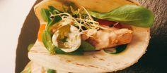 Tacos con conservas de pescado
