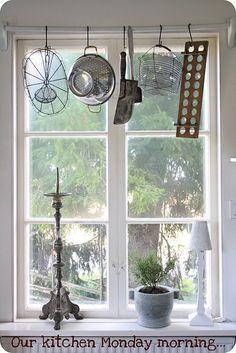 display for #antique kitchen #utensils?