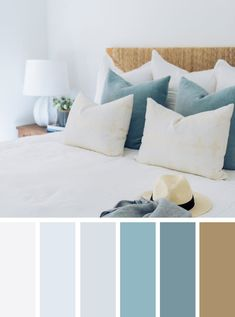 12 Best Color Schemes for Your Bedroom - neutral bedroom with pretty color schemes #color #bedroom #colorcombos
