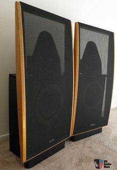 Dahlquist DQ20i, 3 way, phased array floor standing loud speakers ... Open Baffle Speakers, High End Speakers, High End Audio, Audiophile Speakers, Hifi Audio, Stereo Speakers, Phased Array, Speaker Box Design, Audio Room