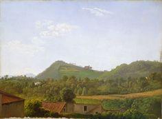 latest addition Simon Denis View near Naples c. 1806 Painting