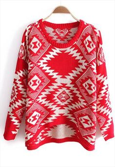 New+red+totem+sweater