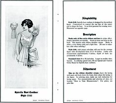 Spirella bandeau brassiere from http://commons.wikimedia.org/wiki/File:SpirellaAccessories1913page24_25.png