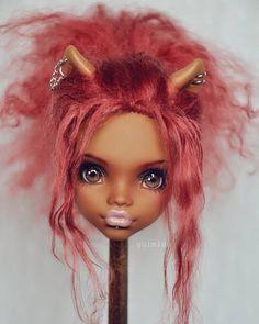 #monsterhigh #doll #ooak #handpainted #handmade #faceup #bjd #repaint #dollrepaint #dollart #monsterhighdoll #monsterhighdollrepaint
