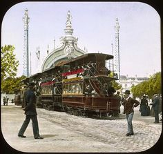vintage everyday: The 1900 Paris World's Fair in Color Photos