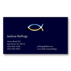christian business card - Christian Business Cards