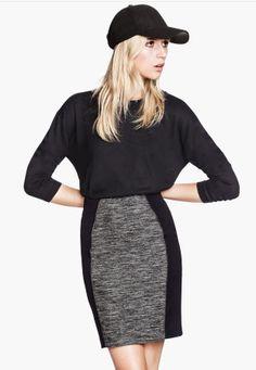 H&M pencil skirt 18. sporty + femme = sexy