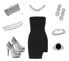 """Untitled #174"" by chernjay on Polyvore featuring Anthony Vaccarello, Harry Kotlar, Kobelli and Bling Jewelry"