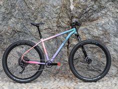 Bice Bicycles Lestofante is a versatile custom-made steel xco mtb. You can mount plus, and plus tires all on the same frame. Mtb Bike, Cycling Bikes, Road Bike, Commuter Bike, Bike Art, Classic Bikes, Bike Design, Custom Bikes, Custom Paint