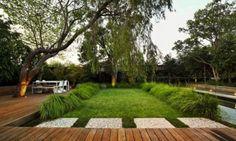 Backyard Landscaping | ... maximize views of the garden in your small backyard landscaping ideas