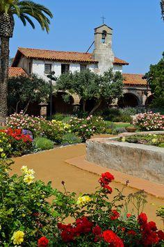 Mission San Juan Capistrano, founded in 1776, San Juan Capistrano, California