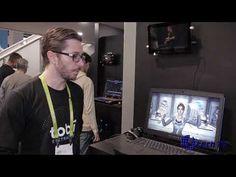 (26) Tobii Eye Tracking Technology at CES 2018 - YouTube