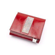 Malá dámská peněženka GIOVANI - CV-210 Červená