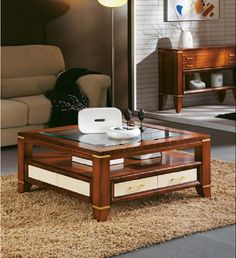 traditional coffee tables designs