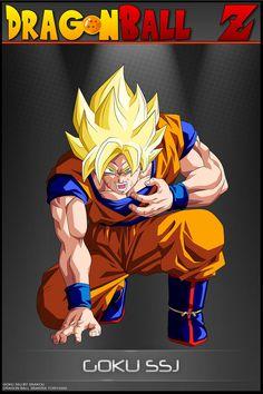 Dragon Ball Z - Goku SSJ
