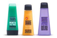 Original Source Personal Care Range packaging