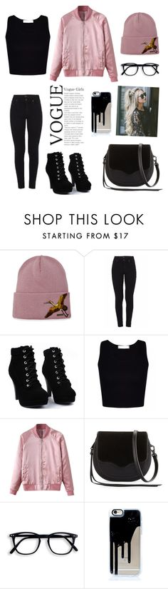 """🦄"" by lovelyhawo ❤ liked on Polyvore featuring Dsquared2, Citizens of Humanity, WithChic and Rebecca Minkoff"