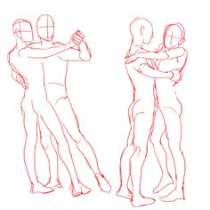 practicing drawing some waltzes with a couple of random hiphop-ish poses at the end I LIKE DRAWING PEOPLE DANCING