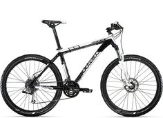 Trek 6000 MTB. Not quite a 9-series but considerably easier on the wallet.
