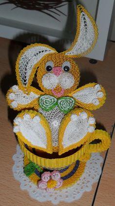 кролик в чашке квиллинг носкова: 3 тис. зображень знайдено в Яндекс.Зображеннях