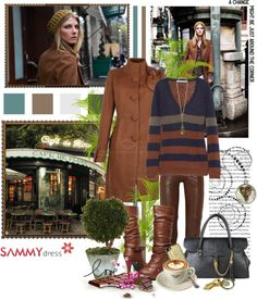 """""""Coffee in the afternoon"""" by christiana40 ❤ liked on Polyvore"""