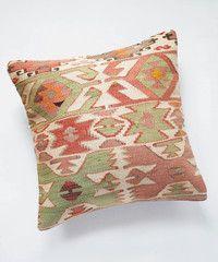 Citrus Flower Kilim Pillow