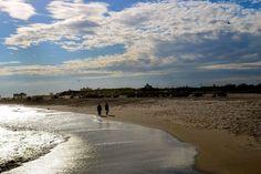 Take a walk along the beach after you eat! http://www.thesandsatlanticbeach.com