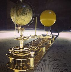 The Tellurion Orrery by Peter Grimwood Image: Kevin Yates