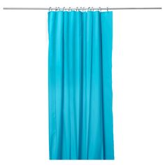 EGGEGRUND Shower curtain - turquoise - IKEA ~ Though a shower curtain, I like it for the window. ~ Sheila