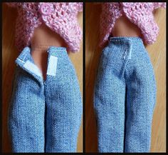 Crochet Toys Barbie Clothes Happier Than A Pig In Mud: Free Barbie Clothes Patterns-Pants, Skirt and T-Shirt Sewing Barbie Clothes, Barbie Dolls Diy, Barbie Clothes Patterns, Doll Dress Patterns, Barbie Dress, Clothing Patterns, Ag Dolls, Girl Dolls, Shirt Patterns