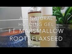 Easy DIY Homemade Flax Seed Gel with Marshmallow Root Kinky Curly Ingredient | LP Share - YouTube
