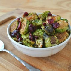 Pioneer Woman's Brussels Sprouts with Balsamic and Cranberries - Eat Like No One Else