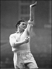 1956:Jim Laker-Cricket.