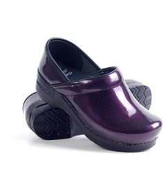 Well since scrubs are my main squeeze during the week love Dansko save my feet! Love these purple Danskos