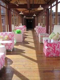 lilly pulitzer furniture line