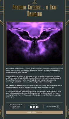 Pheonix Enters... a New Dawning