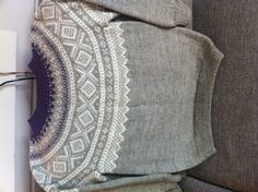 Marius genser Norwegian Knitting, Warm And Cozy, Pullover, Embroidery, Crochet, Sweaters, Baby, Fashion, Moda