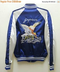 OPENING SALE 25% Sukajan Jacket Satin Vintage Rare by DONPACINO