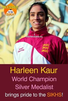 #BlessedtobeSikh Harleen Kaur- World Champion Silver Medalist brings pride to the SIKHS! Harleen Kaur, aged 17 and the WMKF World Champion Silver Medallist is a martial arts competitor, training for nearly 10 years Harleen is also a 2nd Dan Black belt in Karate; she currently trains in a combined programme of karate and kickboxing. Read More http://barusahib.org/…/harleen-kaur-world-champion-silver-…/ Share & Spread the Kaur Pride!