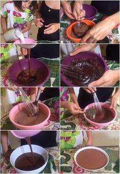 Mousse de chocolate com chia da Bela Gil (Foto: GNT)