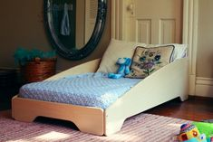 Sodura Zoom Toddler Bed - so simple, could easily adapt the design to customize