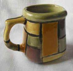 MATES DE CERÁMICA ARTESANALES DE DISEÑO Pottery Designs, Ceramic Clay, Gourds, Mugs, Tableware, Enamel, Ornaments, Ceramic Spoons, Pottery Studio