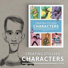 Delve into the vibrant, exciting world of character design with Creating Stylized Characters. Featuring tutorials from a number of talented character designers including Max Grecke, Shaun Bryant, Ida Hem, plus many more! Pre-order now and get 10% off as well as a FREE 3dtotal mechanical pencil!